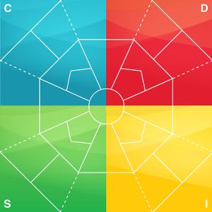Extended DISC Diamant A1 lamineret med fuld farve