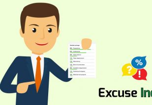 Hvor mange undskyldninger har din sælger?