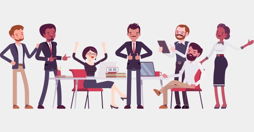 3 gode råd til at sammensætte et succesfuldt team